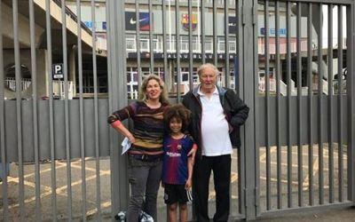 Au bătut drumul degeaba. O familie din Australia a venit să vadă Barcelona, dar nu au putut intra în stadion