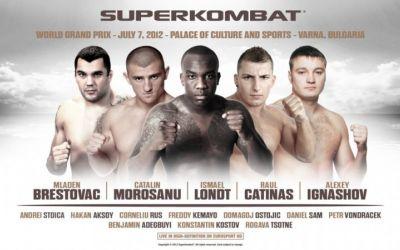 Cinci români pe fight-cardul Superkombat World Grand Prix de la Varna