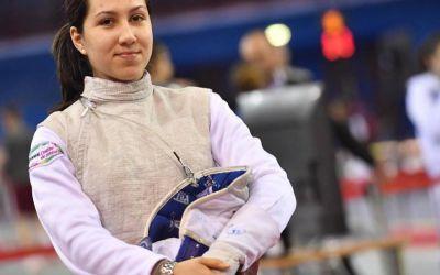 Mălina Călugăreanu, triumfătoare în Cupa României la floretă individual