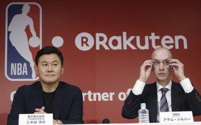 NBA și Rakuten anunță un parteneriat nou pe o sumă uriașă