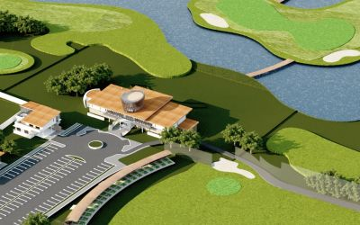 Cel mai modern resort de golf din România a fost construit la Ciugud (Alba)