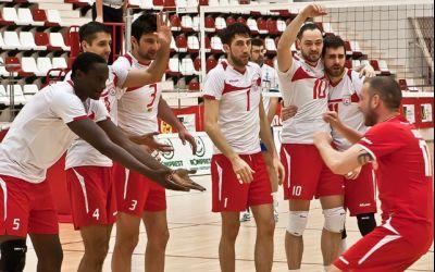Dinamo câștigă derby-ul cu Steaua în Divizia A1 la volei masculin
