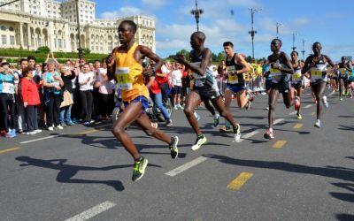 Duncan Cheruiyot câștigă Maratonul de la București. La feminin, Ana Rodean a terminat pe locul trei