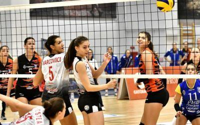 Victorii pentru CSM București și Alba Blaj în prima etapă a Ligii Naționale de volei feminin