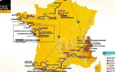 VIDEO / Turul Franței 2018: a fost dezvăluit traseul. Multe pavate, etapă de 65 de km și Alpe d'Huez