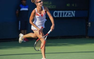 Mihaela Buzărnescu s-a calificat în sferturile probei de dublu la Luxemburg