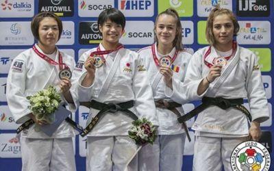 Judo : Cleonia Rîciu – bronz la Campionatul mondial de juniori de la Zagreb