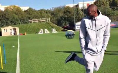 VIDEO / Kobe Bryant, coleg pentru o zi cu fotbaliștii lui PSG