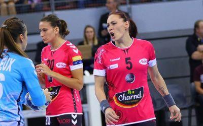 Melinda Geiger, cea mai bună jucătoare a lui Brest, dar echipa ei a pierdut în ultima secundă în Liga Campionilor