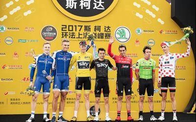 Chris Froome a câștigat Criteriul de la Shanghai. A fost și ultima cursă pentru Alberto Contador