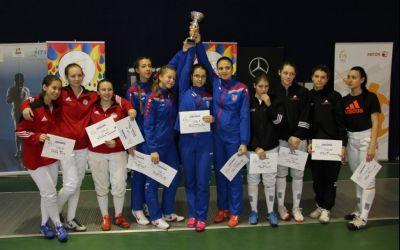 CSA Steaua s-a impus în Cupa României la sabie feminin pe echipe