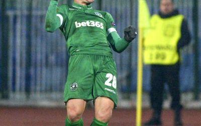 Claudiu Keșeru a înscris pentru Ludogoreț în campionatul Bulgariei. Atacantul român a ajuns la opt reușite