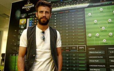 Gerard Pique va lansa alături de Konami o ligă de fotbal virtuală