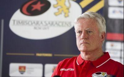 Timișoara Saracens s-a despărțit de antrenorul Matt Williams