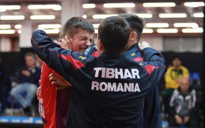 Naționalele României de tenis de masă, medaliate cu bronz la Campionatele Mondiale pentru juniori