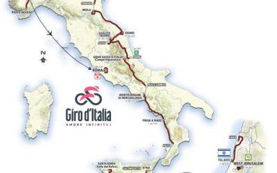 A fost dezvăluit traseul Turului Italiei 2018. Opt finaluri în cățărare, două contratimpuri și o plecare din Israel sunt principalele atracții ale ediției 101