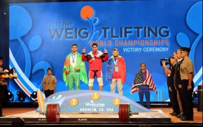 Încă o medalie la Campionatul Mondial de haltere. Captari a luat bronzul la categoria 77 kg