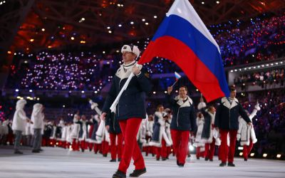 Rusia, interzisă la Jocurile Olimpice de iarnă din 2018