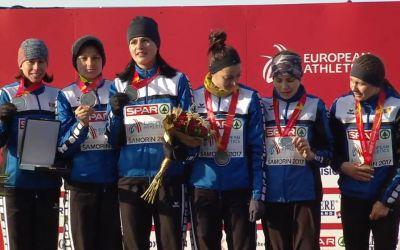 Echipa de senioare a României, medaliată cu argint la Europeanul de cros