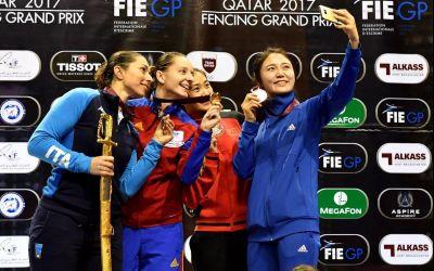 VIDEO / Revenire de poveste: Ana Maria Popescu a câştigat Grand Prix-ul de spadă de la Doha