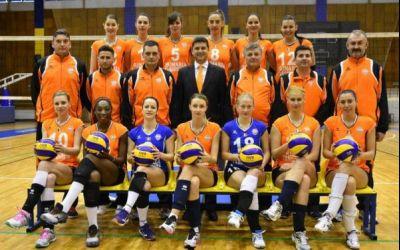 CSM Târgoviște, victorie la Sofia în 16-imile Challenge Cup la volei feminin