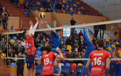 Arcada Galaţi, SCM Craiova, Zalău şi Tricolorul Ploieşti, în semifinalele Cupei României la volei masculin