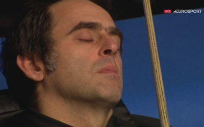 Inedit. Ronnie O'Sullivan a dormit în timpul unu meci din Openul Scoției, dar la final a câștigat