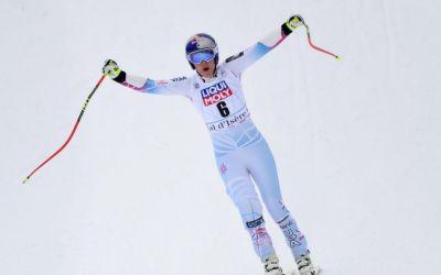 Lindsey Vonn a câștigat proba de Super-G de la Val d'Isere și a ajuns la 78 de victorii în Cupa Mondială
