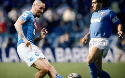 Moment istoric pentru Napoli: Hamsik l-a egalat pe Maradona. Comparație statistică între cei doi