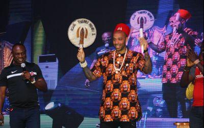 """VIDEO / Henry, încoronat """"rege al fotbalului"""" în Nigeria"""