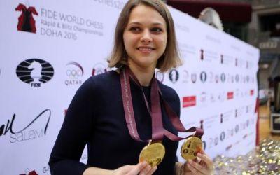 Protest drastic: Ana Muziciuk nu-şi va apăra titlurile mondiale la şah, ea refuzând să se supună exigenţelor din Arabia Saudită cu privire la femei