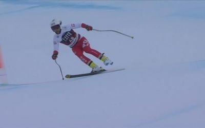 VIDEO / Și-a pierdut schiul, dar a continuat cursa într-un picior în coborârea de la Bormio