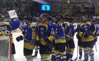 Corona Brașov, succes categoric cu Progym Gheorghieni în Liga Națională de hochei pe gheață