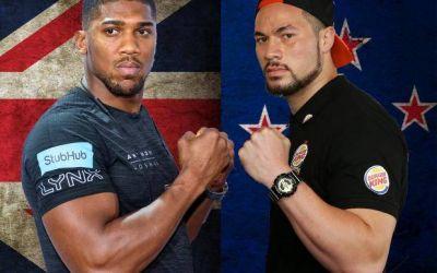 Joshua și Parker vor urca în ring la 31 martie pentru unificarea titlurilor la categoria grea