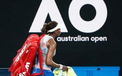 Primele surprize de la Australian Open: eliminări pentru Venus Williams, Sloane Stephens, Dominika Cibulkova, John Isner și Kevin Anderson