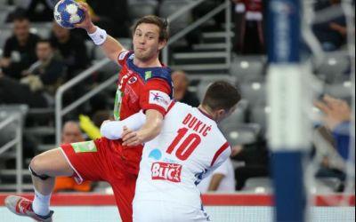Norvegia câștigă primul meci din grupele principale