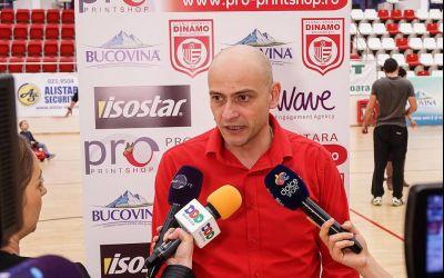 Ștefan Constantin revine pe banca lui Dinamo