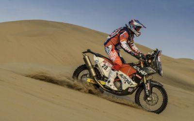 S-a încheiat Raliul Dakar. Emanuel Gyenes s-a clasat între primii 30 la clasa moto