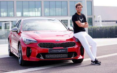 VIDEO / Rafael Nadal, testat la volan. Emoții la fel de mari precum pe teren