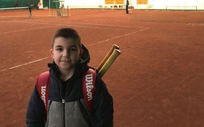 Pariu de viitor: tenismenul șahist Patrick Grigore