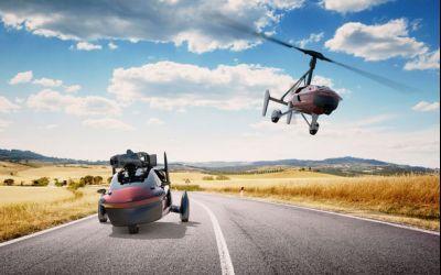 Pal-V Liberty, prima mașină zburătoare de serie se lansează în martie