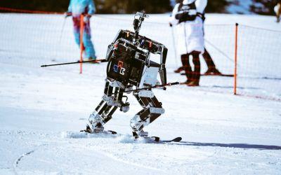 VIDEO / Concurs de schiuri pentru roboți la PyeongChang
