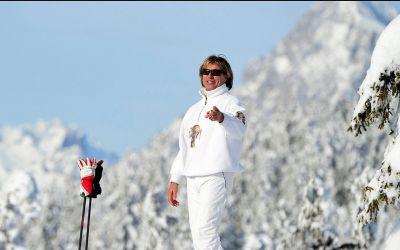 Portret / În acorduri muzicale, pe schiuri, alături de Hansi Hinterseer