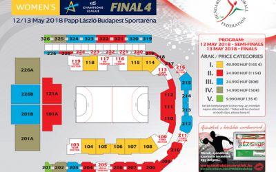 A fost suplimentat numărul de bilete pentru Final 4-ul Ligii Campionilor la handbal feminin