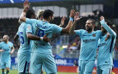 La Liga: Barcelona trece de Eibar și stabilește un nou record al clubului