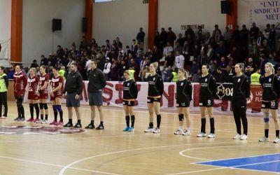 CSM București a învins cu emoții Rapidul în Liga Florilor