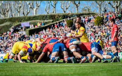 Naționala de rugby a României a pierdut surprinzător în Spania