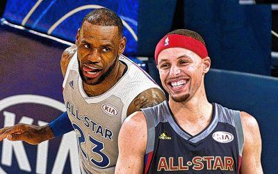 All Star Game NBA: echipa lui LeBron James a învins-o pe cea a lui Curry