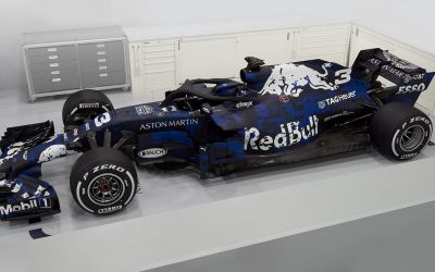 Formula 1: Red Bull și-a lansat monopostul pentru sezonul 2018