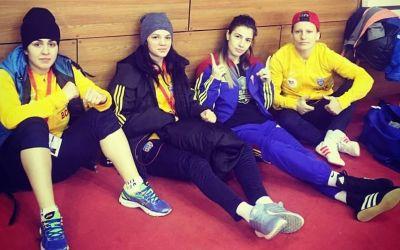 Lăcrămioara Perijoc şi Florina Radu, medaliate cu bronz la turneul de la Sofia